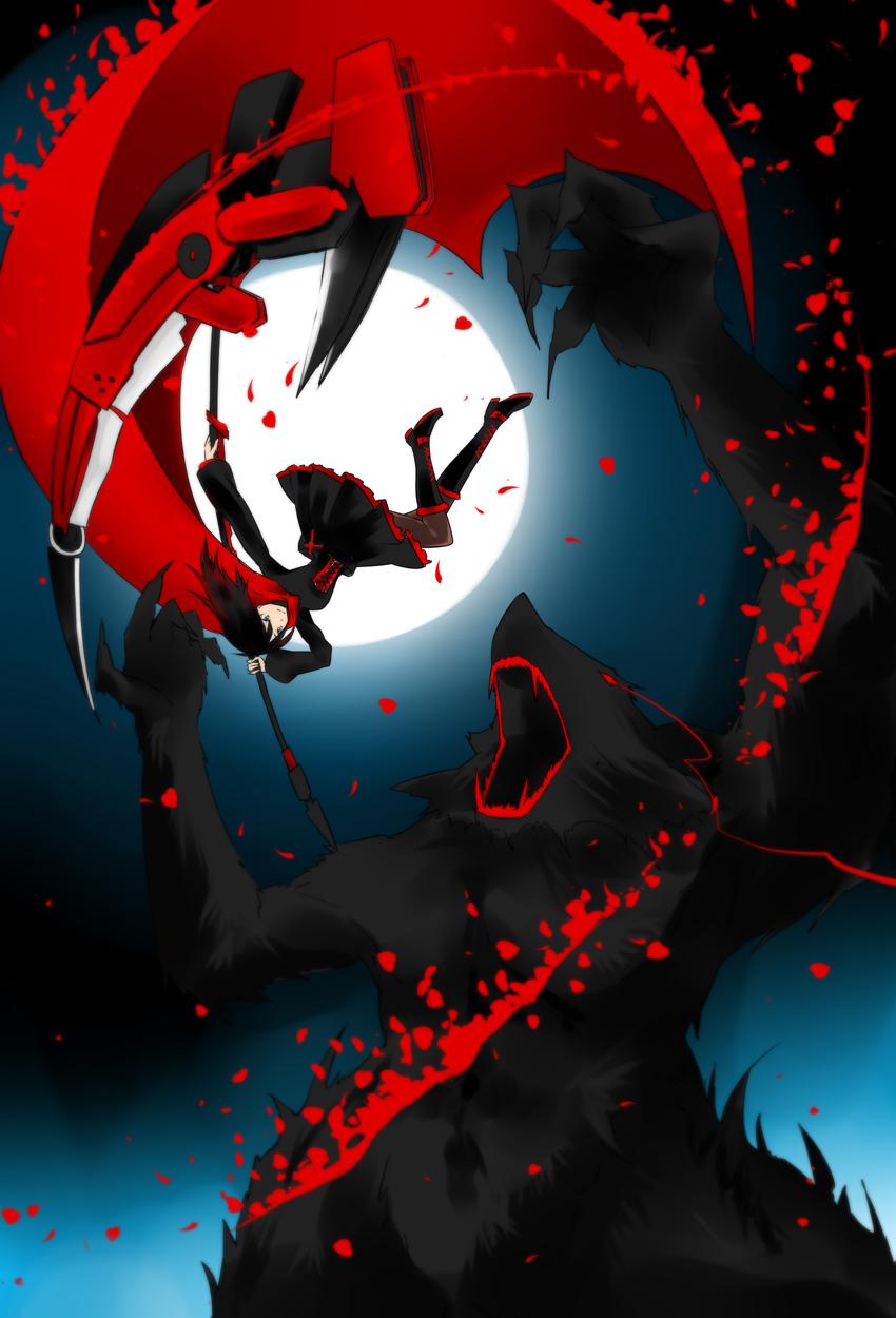 Ruby rose rwby mobile wallpaper 1536140 zerochan - Anime mobile wallpaper ...