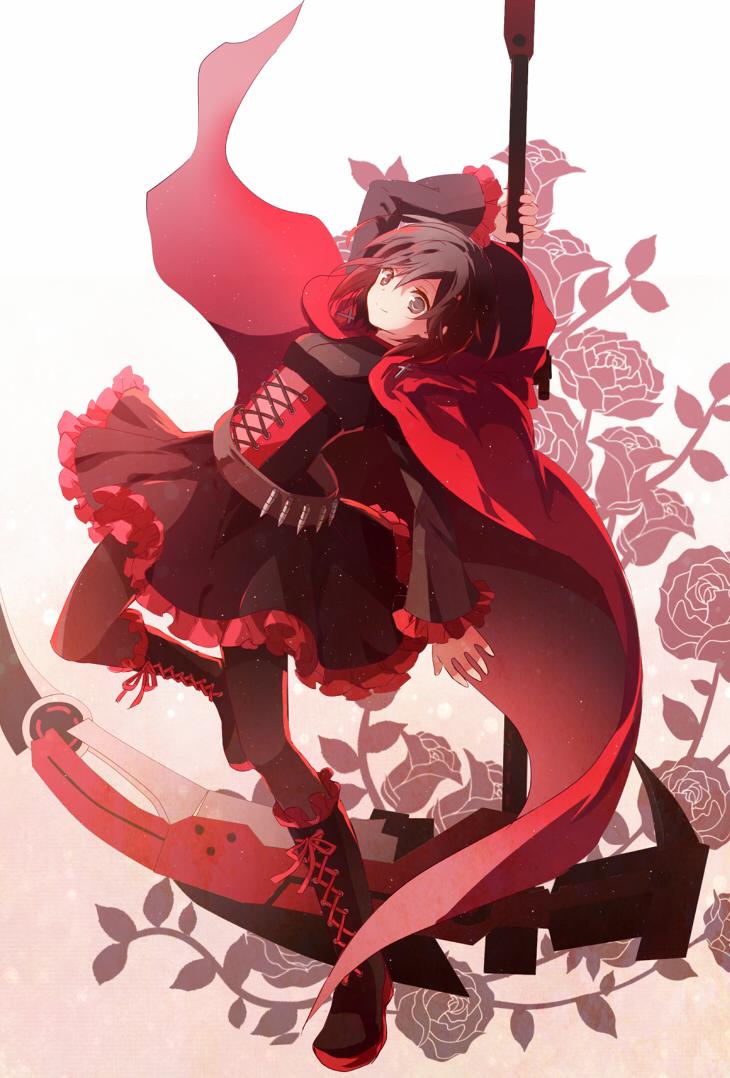 Henceforward rwby au manga by kuma rwby - Rwby ruby rose fanart ...