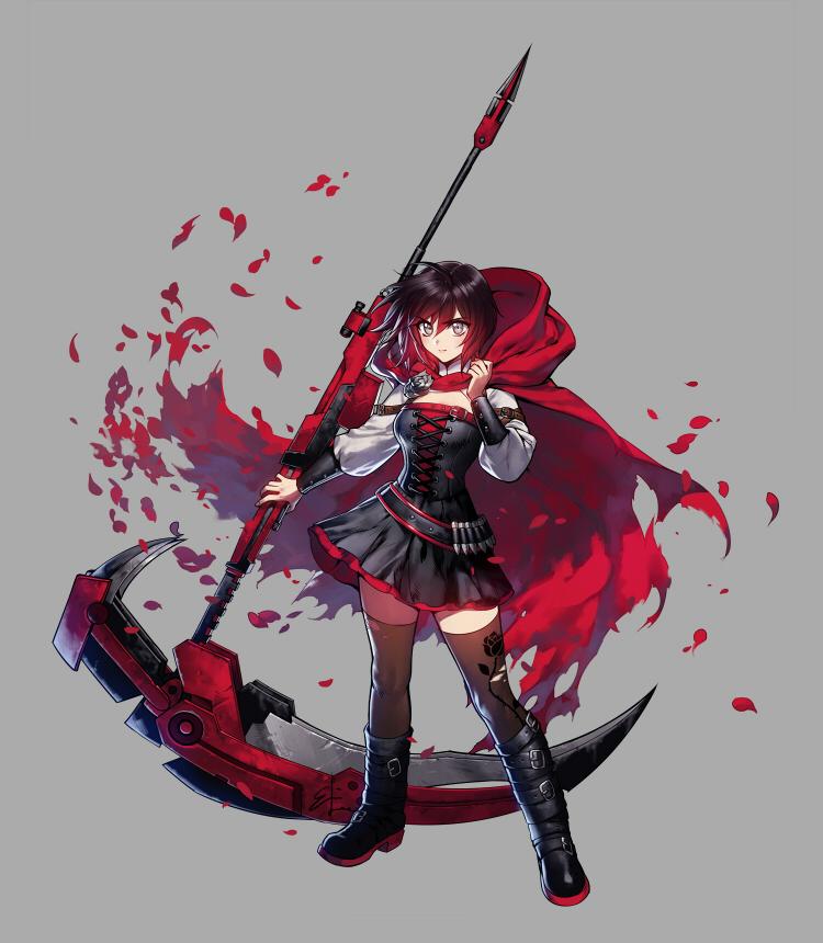 rwby ruby rose scythe - photo #24