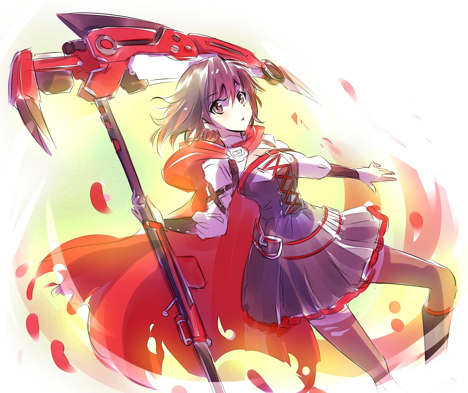 Ruby rose rwby image 2063474 zerochan anime image board - Rwby ruby rose fanart ...