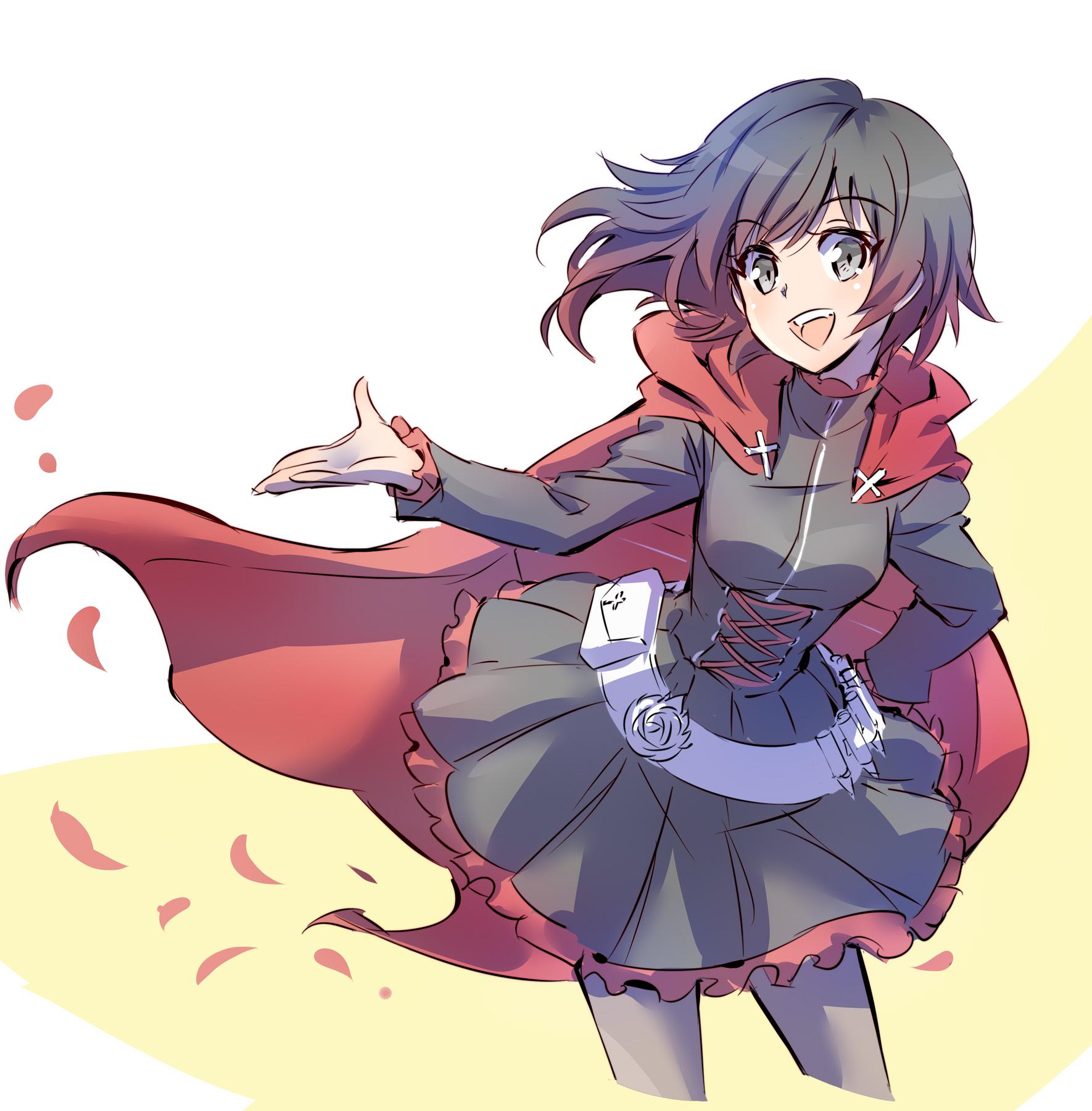 Ruby rose rwby image 2179052 zerochan anime image board - Rwby ruby rose fanart ...
