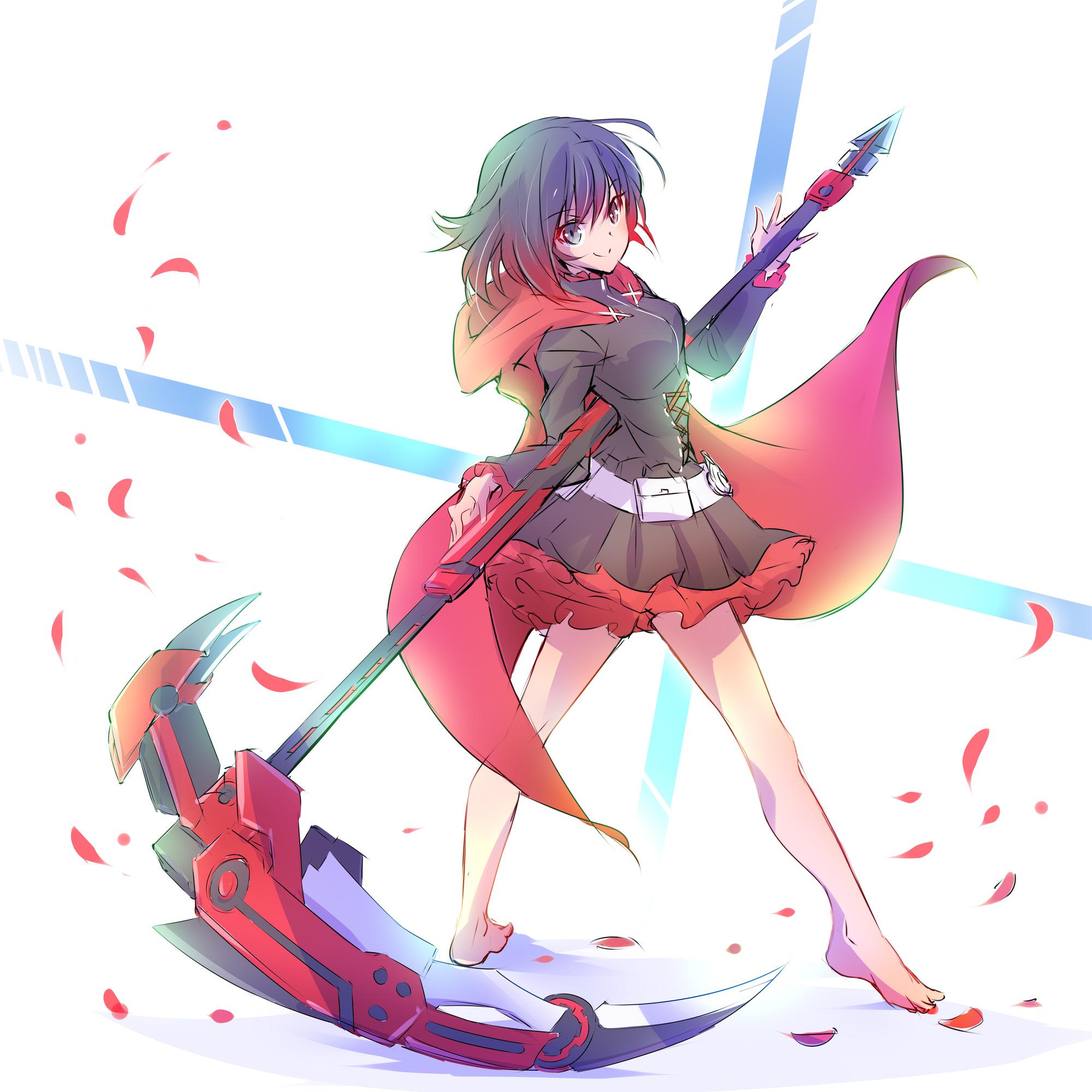 Ruby rose rwby image 2252844 zerochan anime image board - Rwby ruby rose fanart ...
