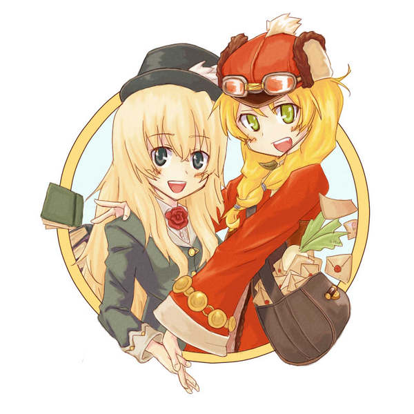 Tags: Anime, Rune Factory Frontier, Anette (Rune Factory Frontier), Selphy, Selephy