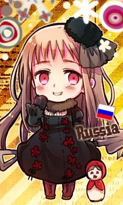 Tags: Anime, Himaruya Hidekaz, Axis Powers: Hetalia, Russia (Female), Russian Doll, Shovel, Mobile Wallpaper, Player 2, Official Art, Nyotalia