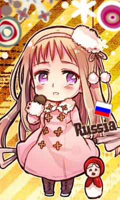 Tags: Anime, Himaruya Hidekaz, Axis Powers: Hetalia, Russia (Female), Shovel, Official Art, Mobile Wallpaper, Nyotalia