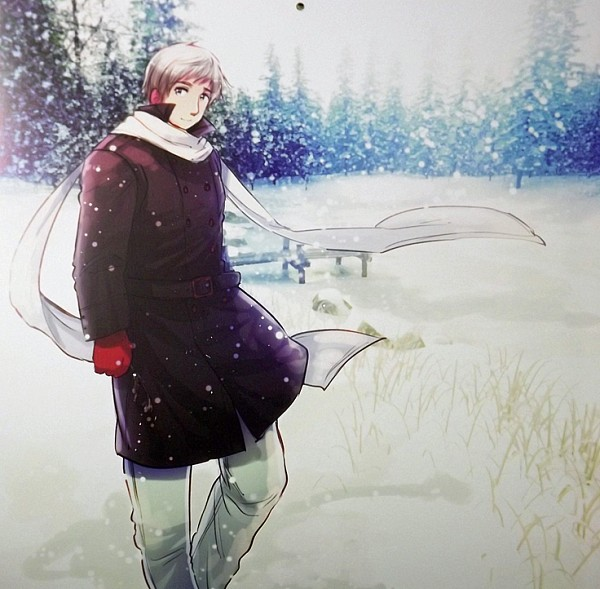 Tags: Anime, Himaruya Hidekaz, Axis Powers: Hetalia, Russia, Winter, Winter Outfit, Field