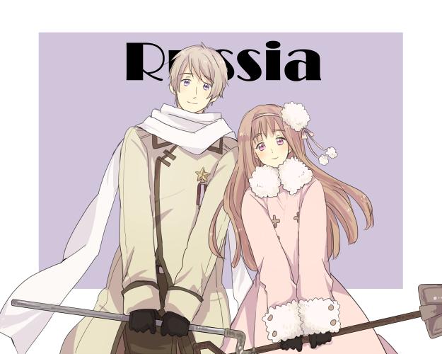 Tags: Anime, Pixiv Id 413733, Axis Powers: Hetalia, Russia (Female), Russia, Shovel, Medal, Nyotalia, Pixiv, Fanart From Pixiv, PNG Conversion, Fanart, Soviet Union