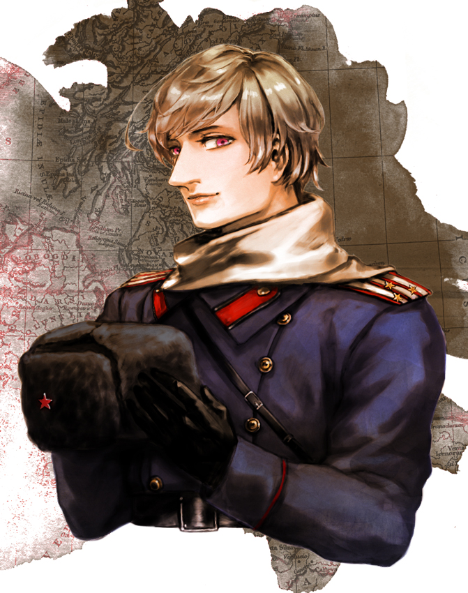 Tags: Anime, Pixiv Id 536232, Axis Powers: Hetalia, Russia, Ushanka, Russian Clothes, Pixiv, Fanart From Pixiv, Fanart