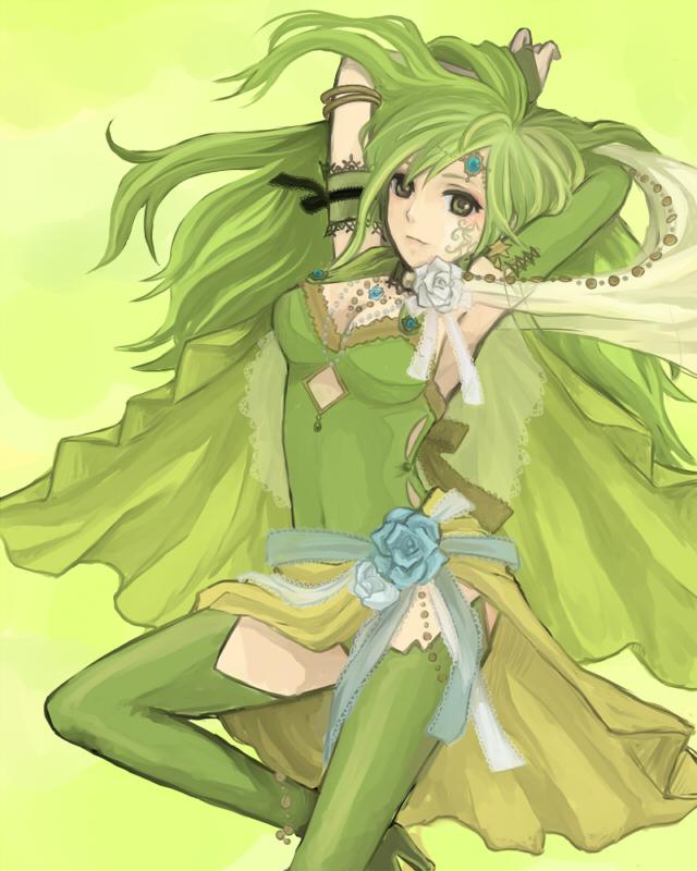 Tags: Anime, Final Fantasy IV, Rydia of Mist, Summoner