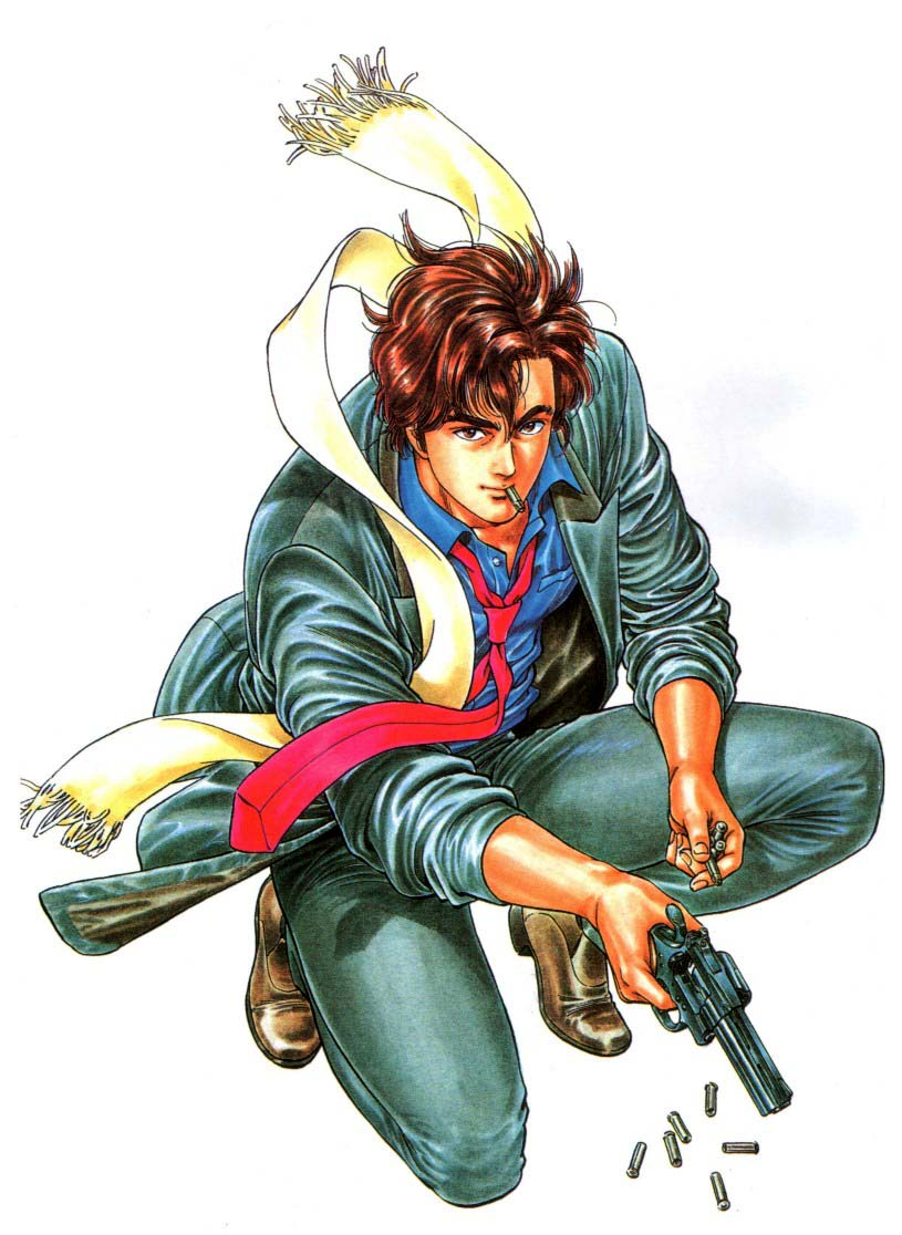 Ryo Saeba City Hunter Zerochan Anime Image Board
