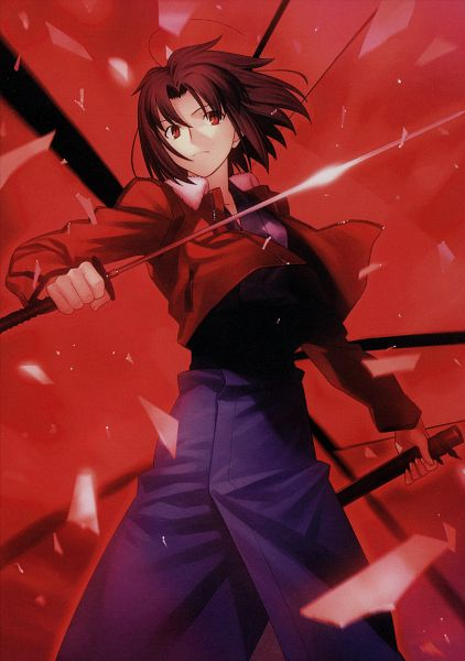 Tags: Anime, TYPE-MOON, Scan, The Garden of Sinners, Ryougi Shiki
