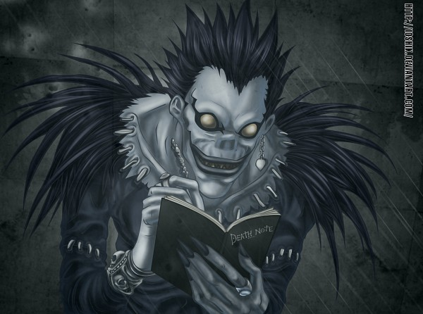 Tags: Anime, DEATH NOTE, Ryuk, Ioshik