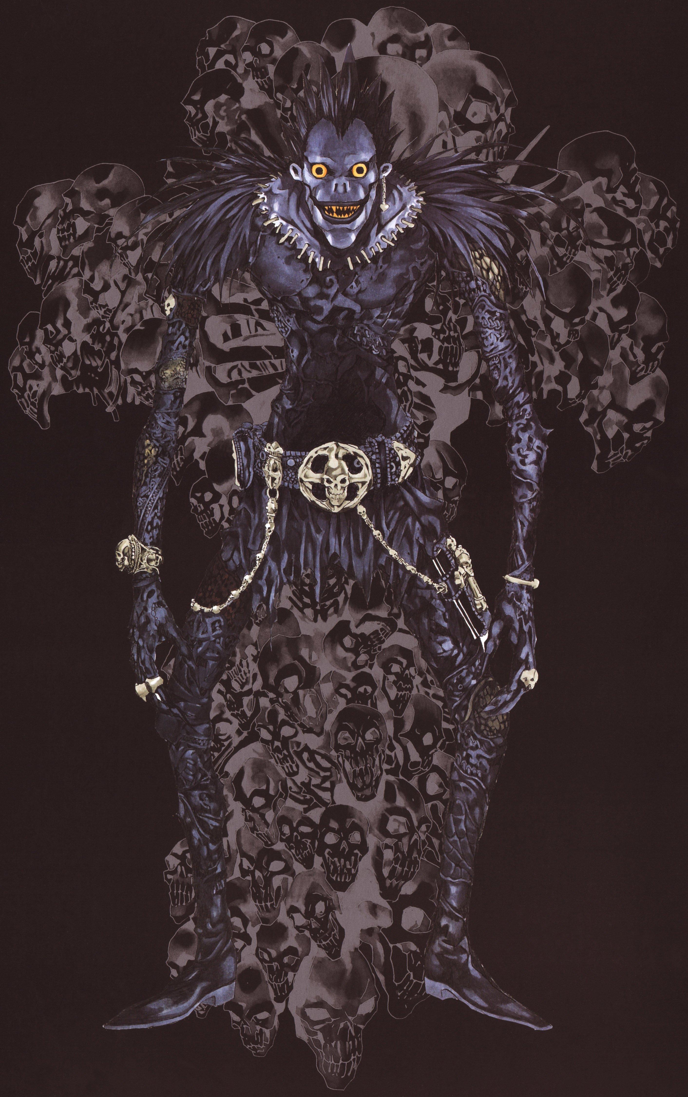 Ryuk Death Note Zerochan Anime Image Board