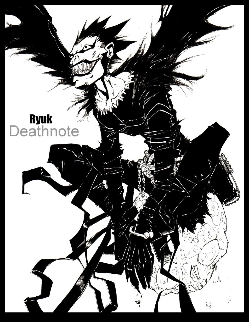 Ryuk Death Note Image 921281 Zerochan Anime Image Board