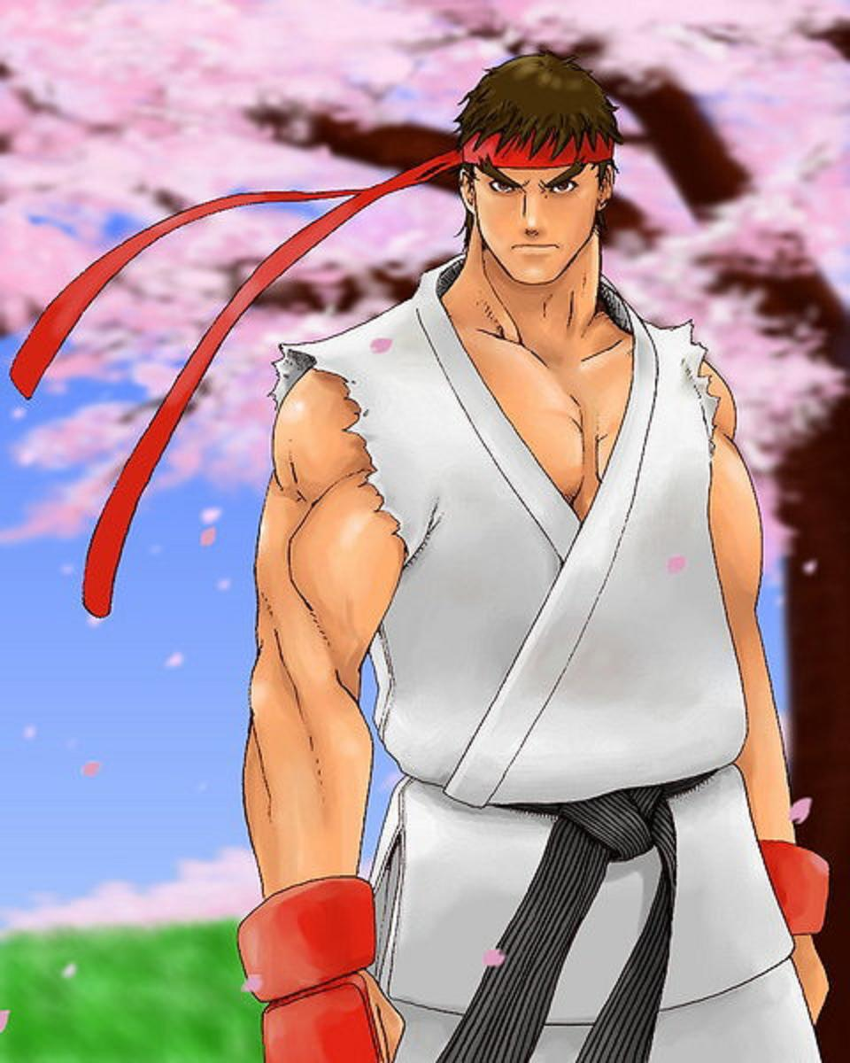 Ryuu Street Fighter Image 324513 Zerochan Anime Image Board