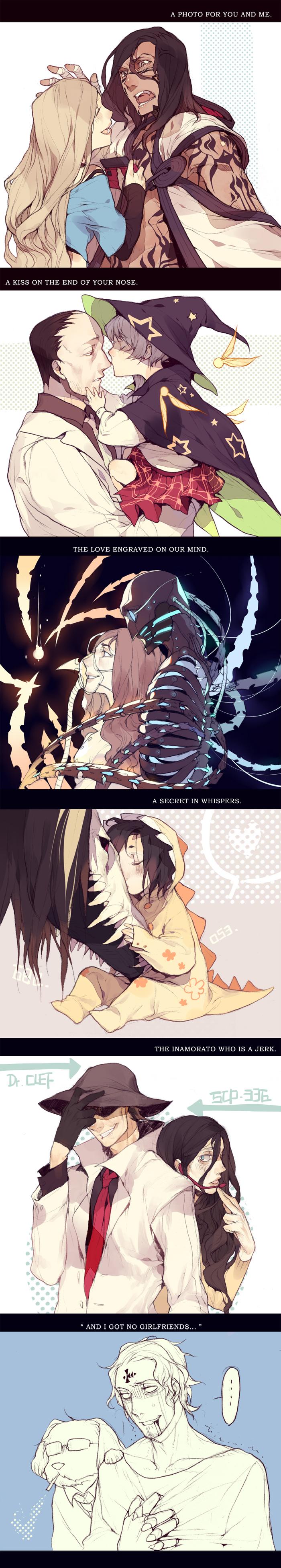 Scp 076 Scp Foundation Zerochan Anime Image Board