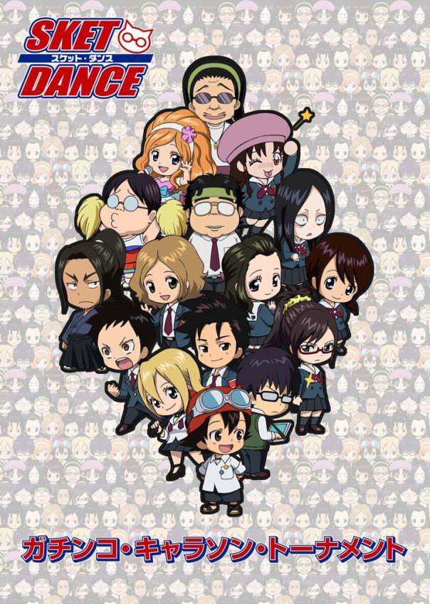 Tags: Anime, SKET Dance, Yuuki Reiko, Onizuka Hime, Unyuu Mimori, Kibitsu Momoka, Asahina Kikuno, Agata Soujirou, Michiru Shinba, Usui Kazuyoshi, Tsubaki Sasuke, Fujisaki Yusuke, Mobile Wallpaper