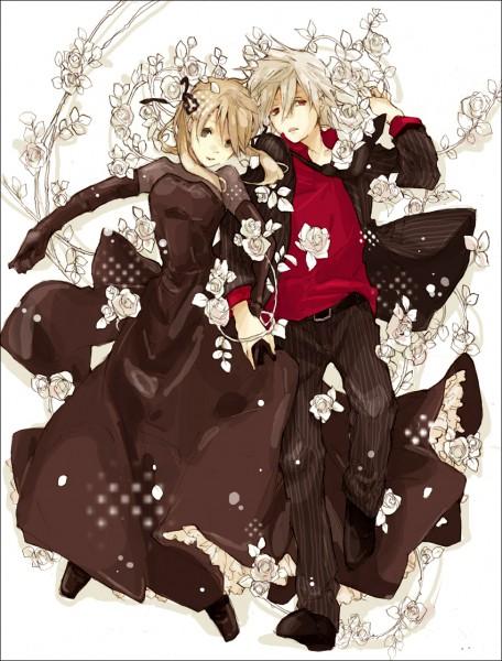 Tags: Anime, Katsura Miya, SOUL EATER, Maka Albarn, Soul Eater Evans, White Flower