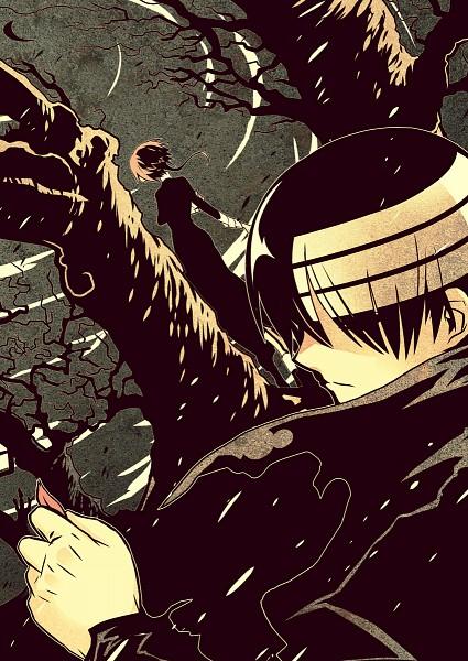 Tags: Anime, Imawano Lem, SQUARE ENIX, SOUL EATER, Death the Kid, Crona, Androgynous