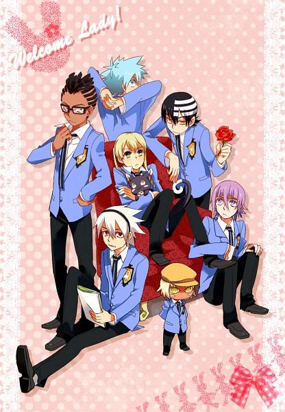 Tags: Anime, SOUL EATER, Black Star, Death the Kid, Kirikou Rung, Blair (Cat), Soul Eater Evans