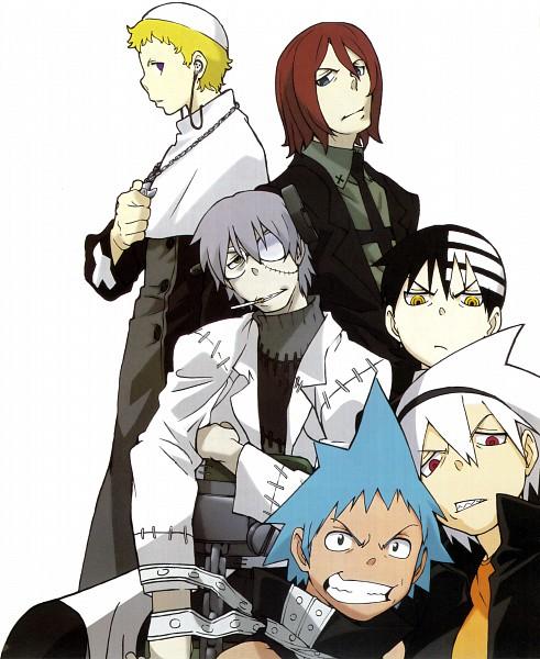 Tags: Anime, SQUARE ENIX, SOUL EATER, Soul Eater Evans, Black Star, Death the Kid, Spirit Albarn