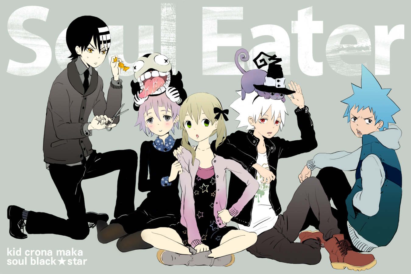 Soul Eater Ohkubo Atsushi Image 133179 Zerochan Anime Image Board