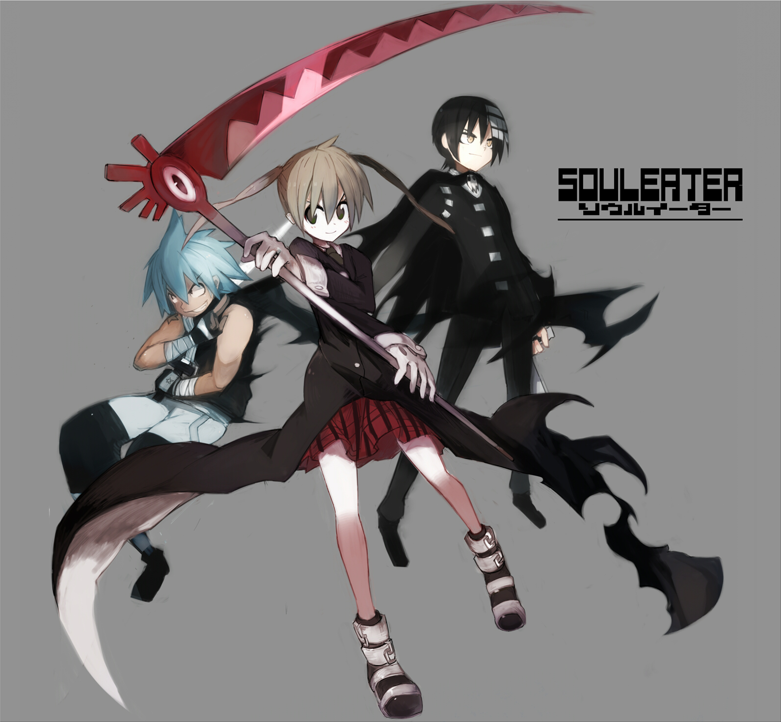 Tags Anime Pixiv Id 4108972 SOUL EATER Soul Eater Evans Black