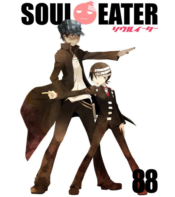 Tags: Anime, SOUL EATER, Death the Kid, Noah (SOUL EATER), Artist Request