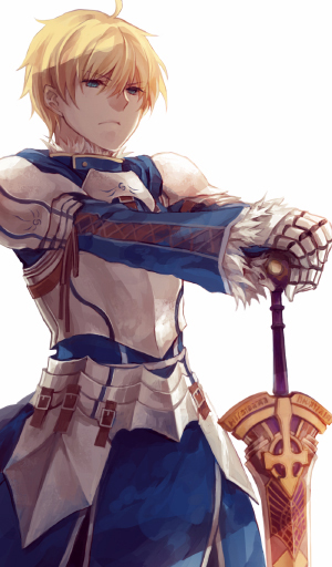 Tags: Anime, Sinsora, Fate/Prototype, Saber (Fate/Prototype), Excalibur Proto, Pixiv, Mobile Wallpaper, Fanart