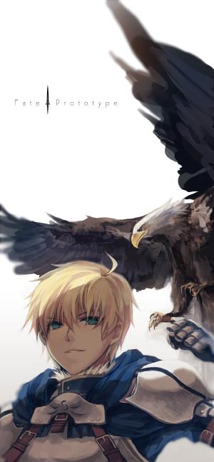 Tags: Anime, Sinsora, TYPE-MOON, Fate/Prototype, Saber (Fate/Prototype), Fanart, Pixiv