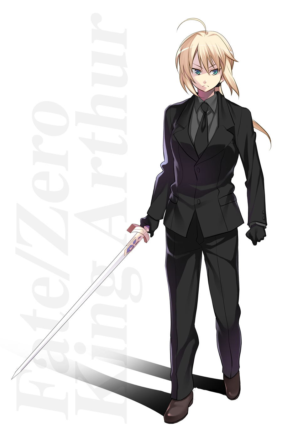 saber fatestay night suit page 11 zerochan anime