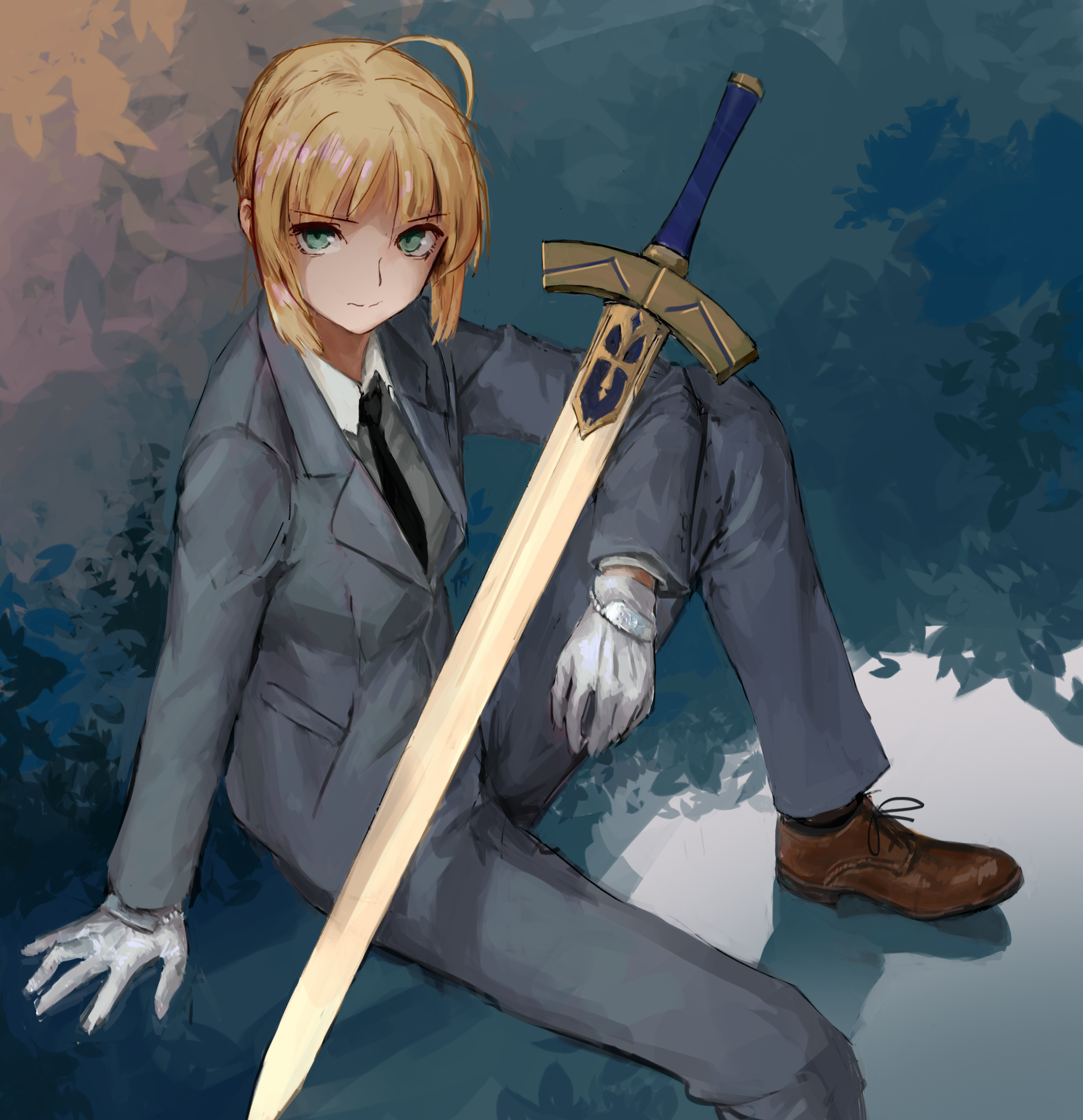 saber fatestay night image 2076160 zerochan anime