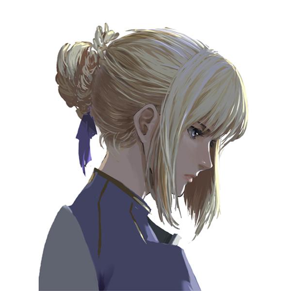 Tags: Anime, Enami Katsumi, Fate/stay night, Saber (Fate/stay night), Fanart, Pixiv