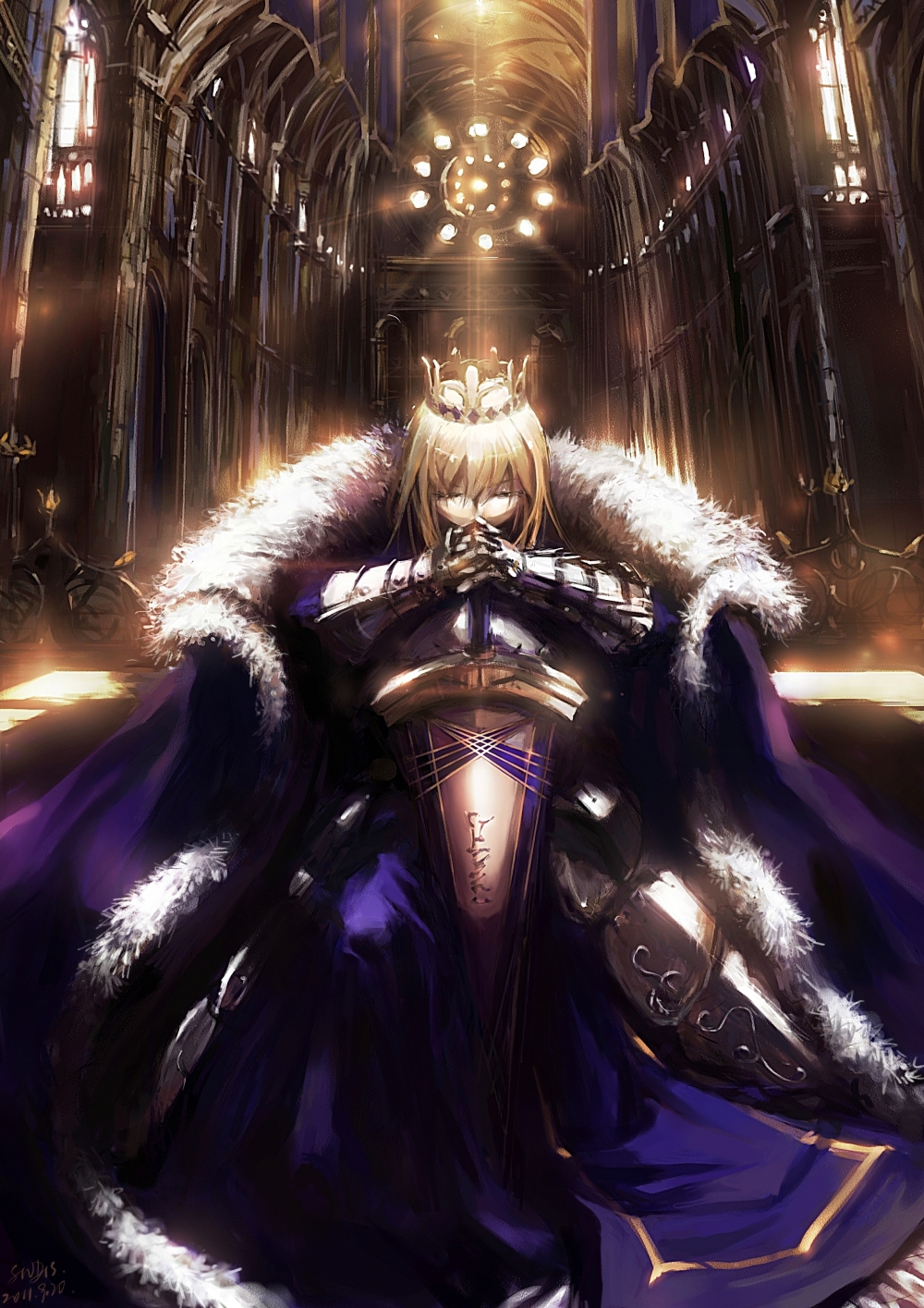 Saber  Fate  Stay Night