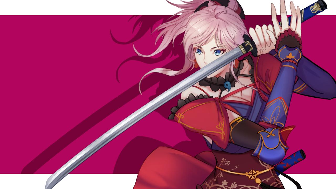 Saber Miyamoto Musashi Fate Grand Order Wallpaper 2281906 Zerochan Anime Image Board