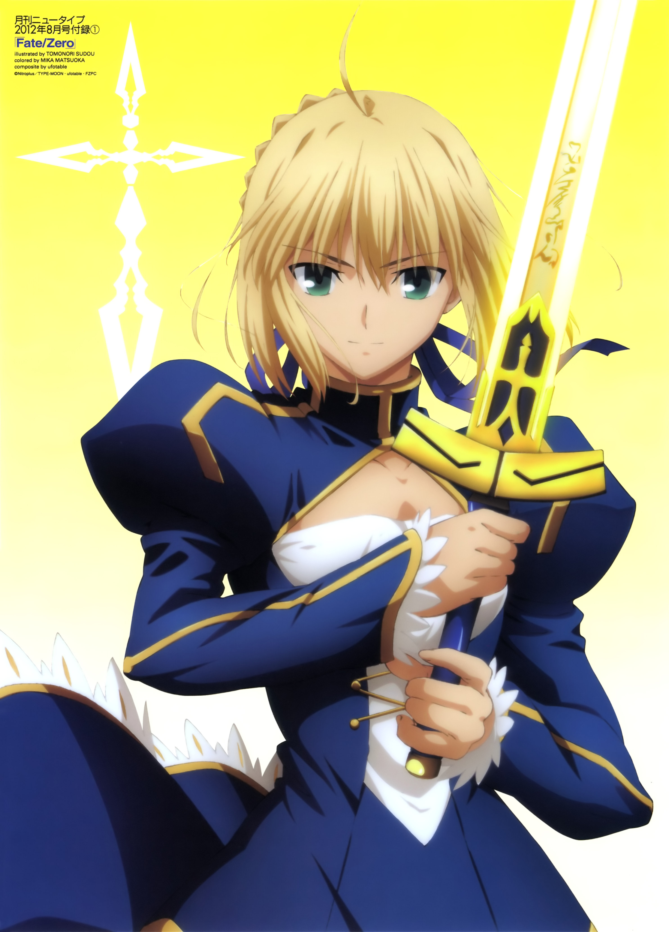 A primeira marionete Saber.(Fate.stay.night).full.1186237