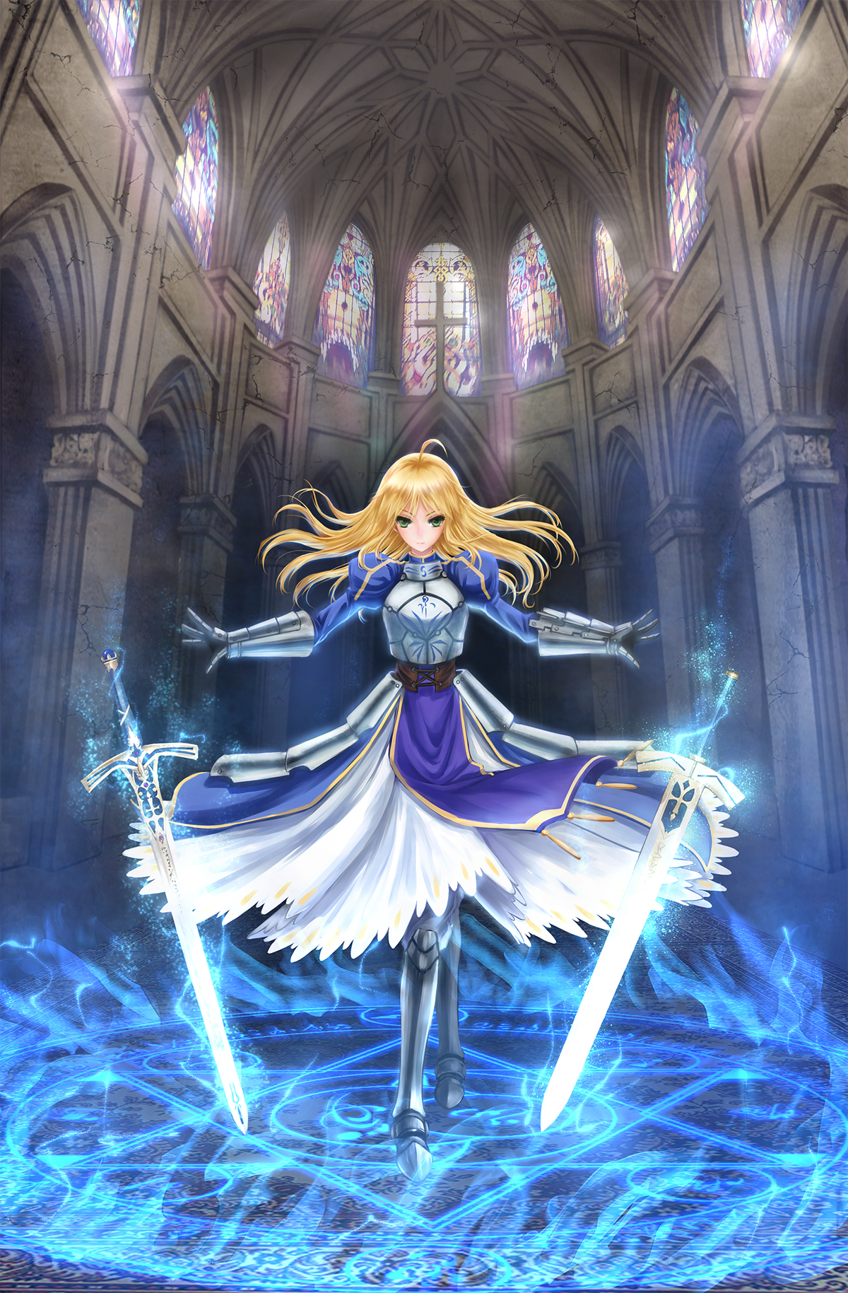 Saber (Fate/stay night) Mobile Wallpaper #1357274 ...
