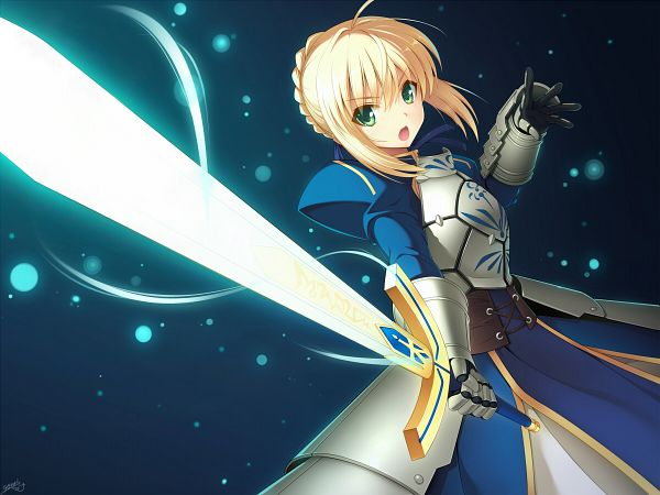 Tags: Anime, Fanart, Fate/stay night, Saber, TYPE-MOON