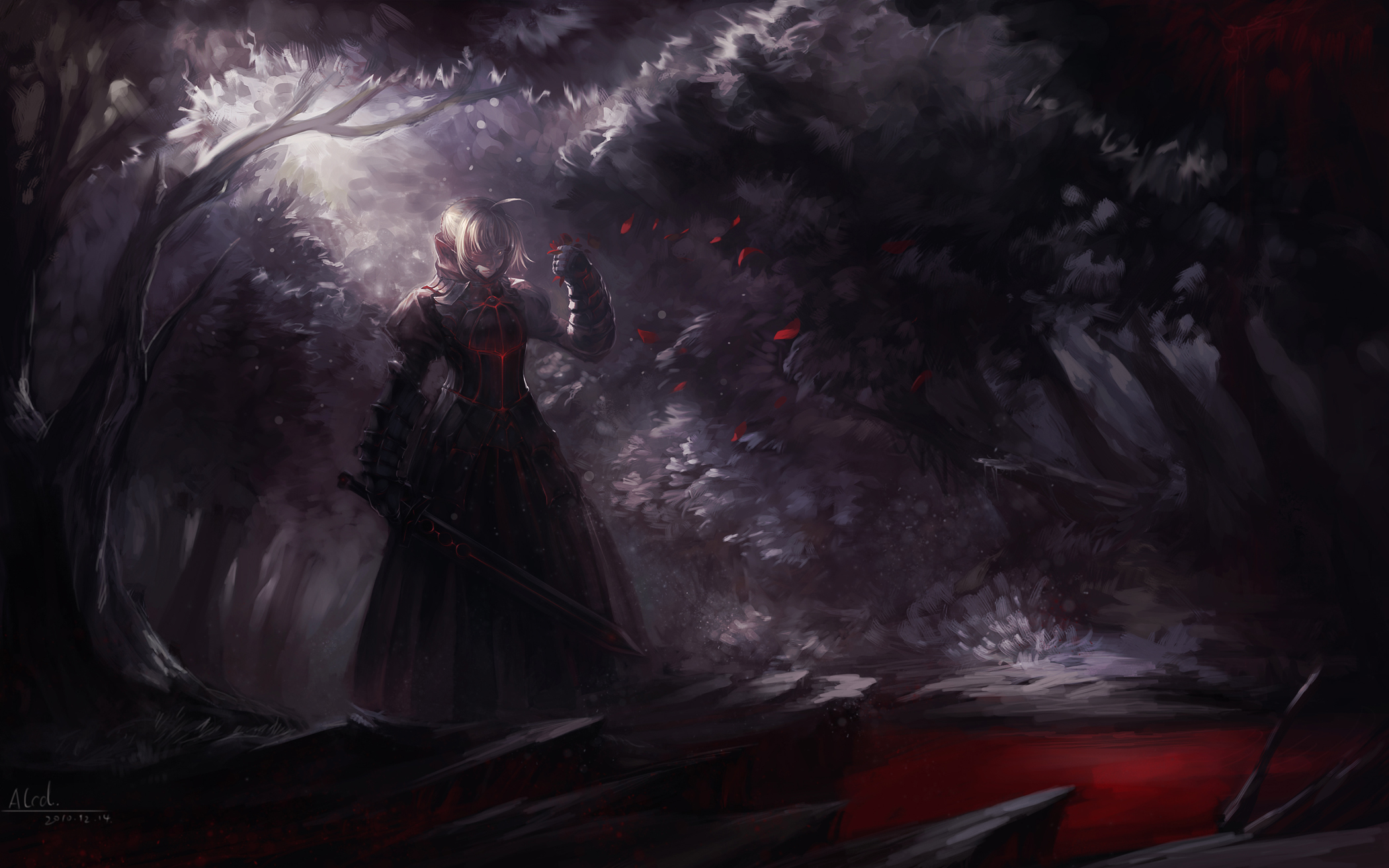 Saber Alter Fate Stay Night Zerochan Anime Image Board