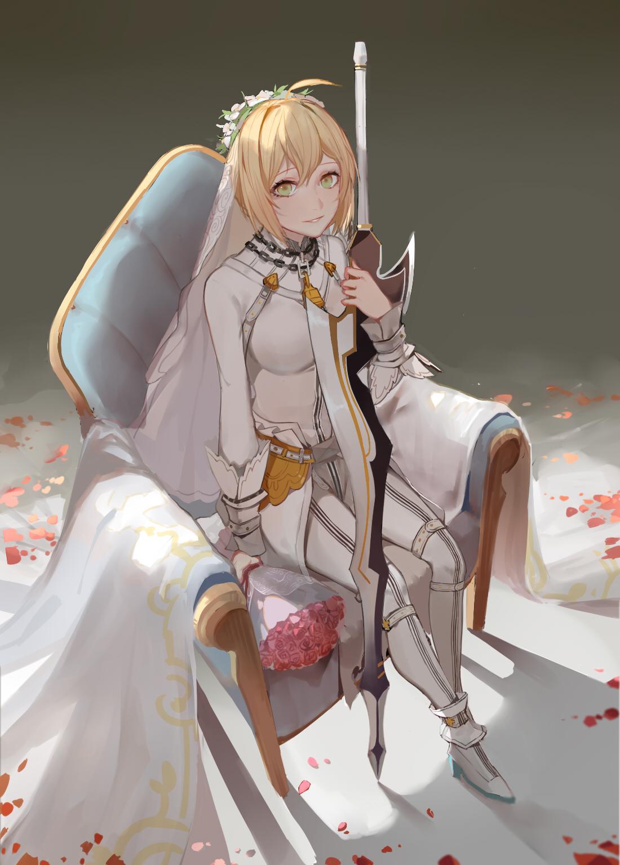 Saber nero bride