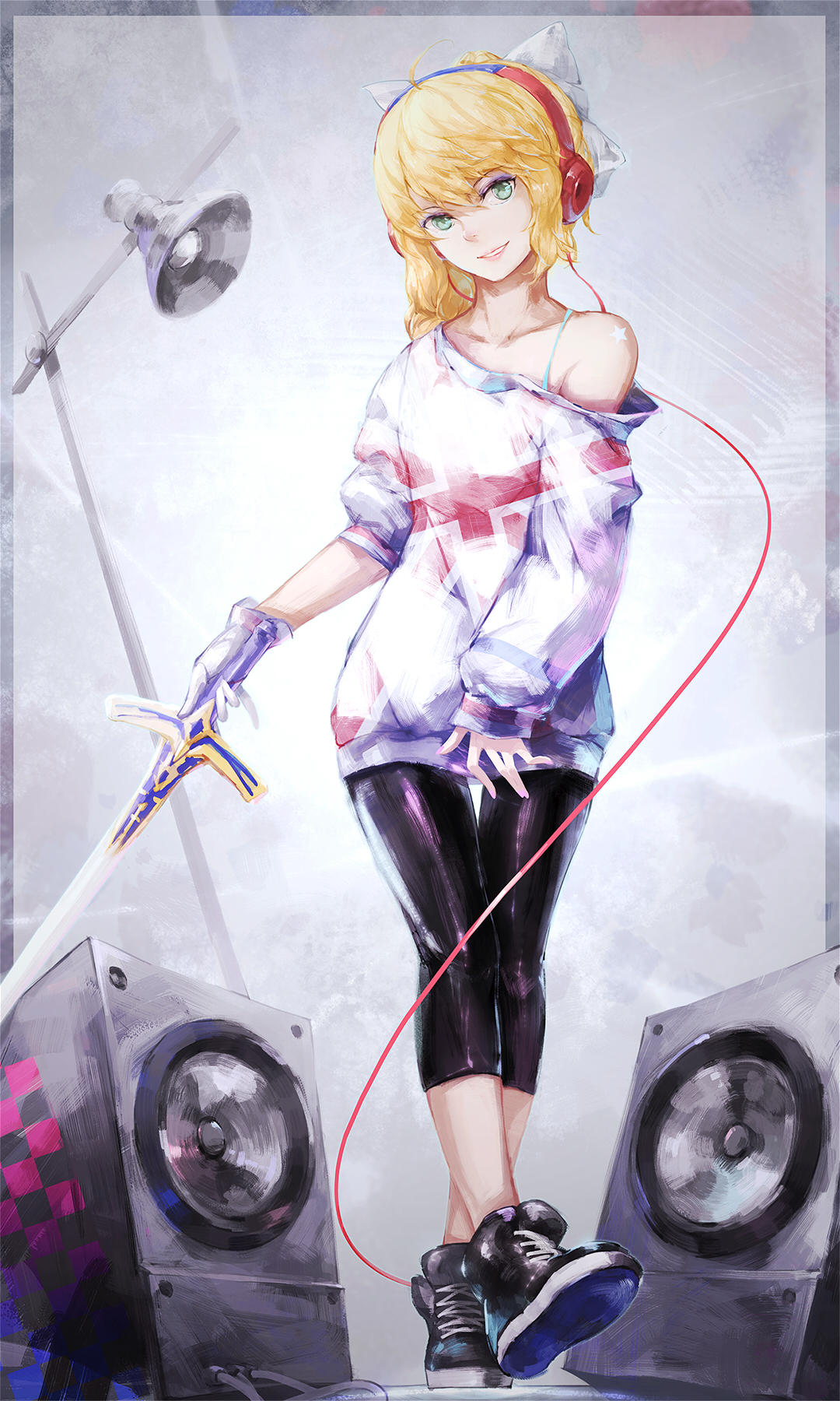saber lily - saber  fate  stay night