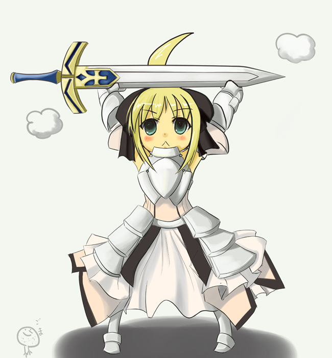 Tags: Anime, Fate/unlimited codes, Saber Lily, Saber (Fate/stay night)