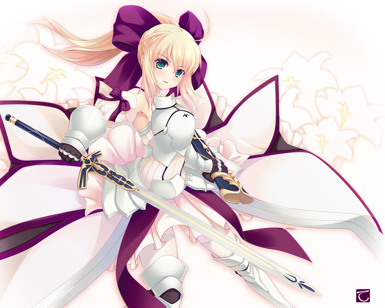 Fate Zero Saber Lily