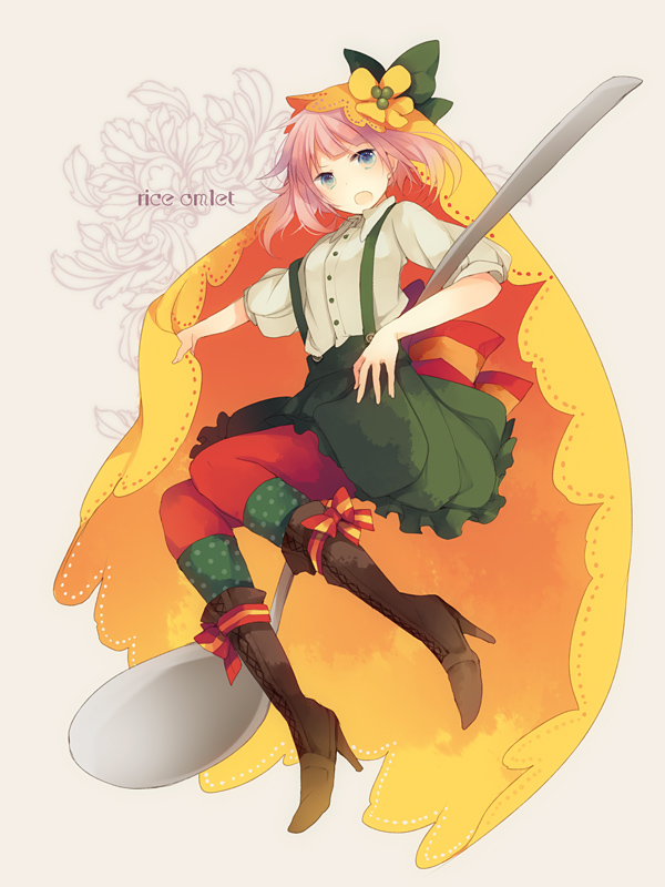 Tags: Anime, Sabutarou, Omelet (Personification), Omelet, Original, Pixiv