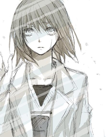 Tags: Anime, Yoi Machi, No.6, Safu, Gray, Sad