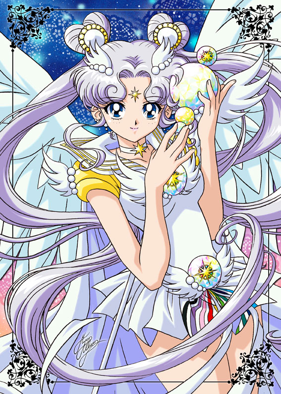 Tags: Anime, Bishoujo Senshi Sailor Moon, Sailor Cosmos, Official Art