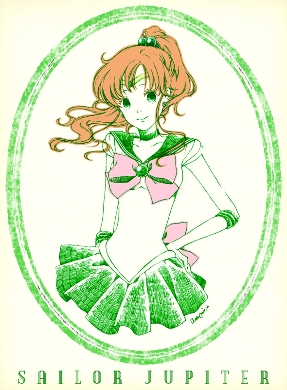 Tags: Anime, Pixiv Id 10667552, Bishoujo Senshi Sailor Moon, Kino Makoto, Sailor Jupiter, Fanart, Fanart From Pixiv, Pixiv