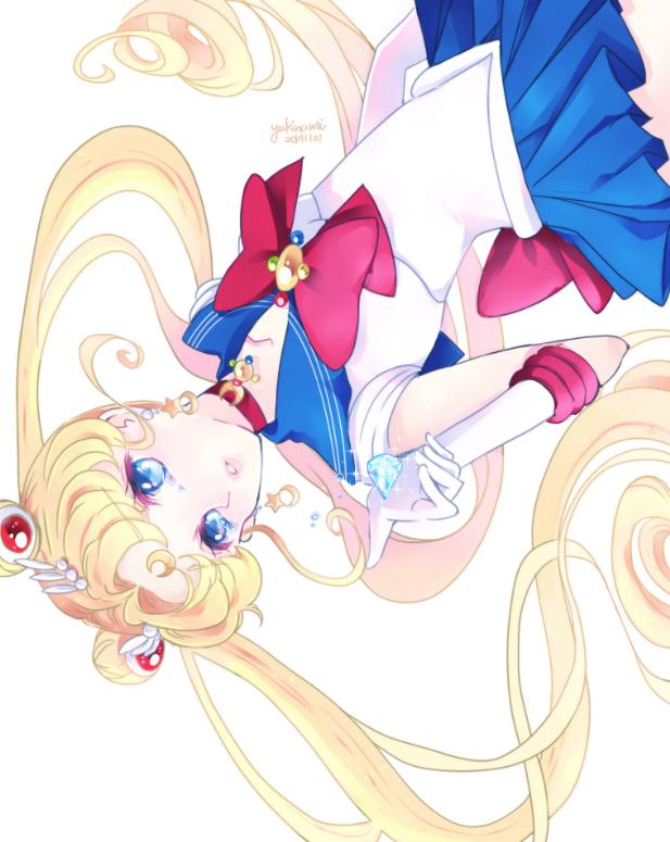 Tags: Anime, Pixiv Id 3111494, Bishoujo Senshi Sailor Moon, Sailor Moon (Character), Tsukino Usagi, Henshin Brooch, Silver Crystal, Fanart From Pixiv, Fanart, Pixiv