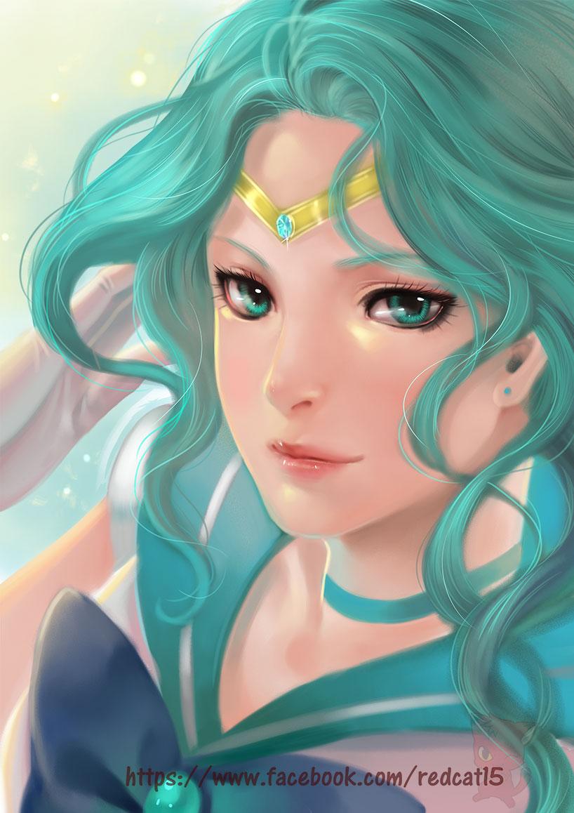 Sailor Neptune Kaiou Michiru Zerochan Anime Image Board