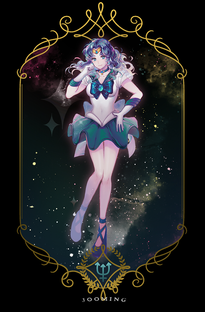 Sailor Neptune Kaiou Michiru Mobile Wallpaper 1900987